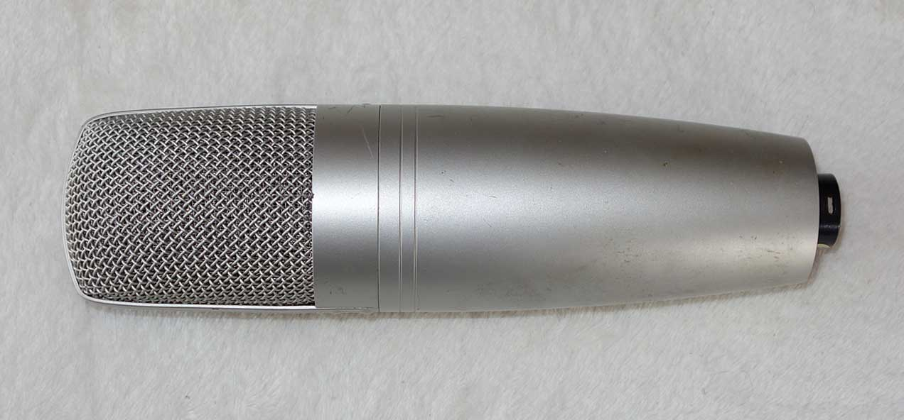 Superlux CM-H8D Tube Mic Omni/Cardioid Patterns, High Pass, -10dB Pad w/PSU, Windscreen, Stand Mount, 7-Pin Cable