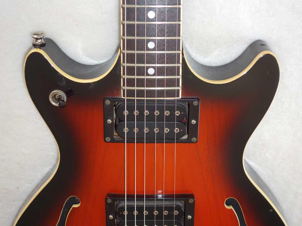 Vintage 1980s Vantage VE-545 Entertainer MIJ Matsumoku Guitar MMK 45 Pups, Coil-Tap