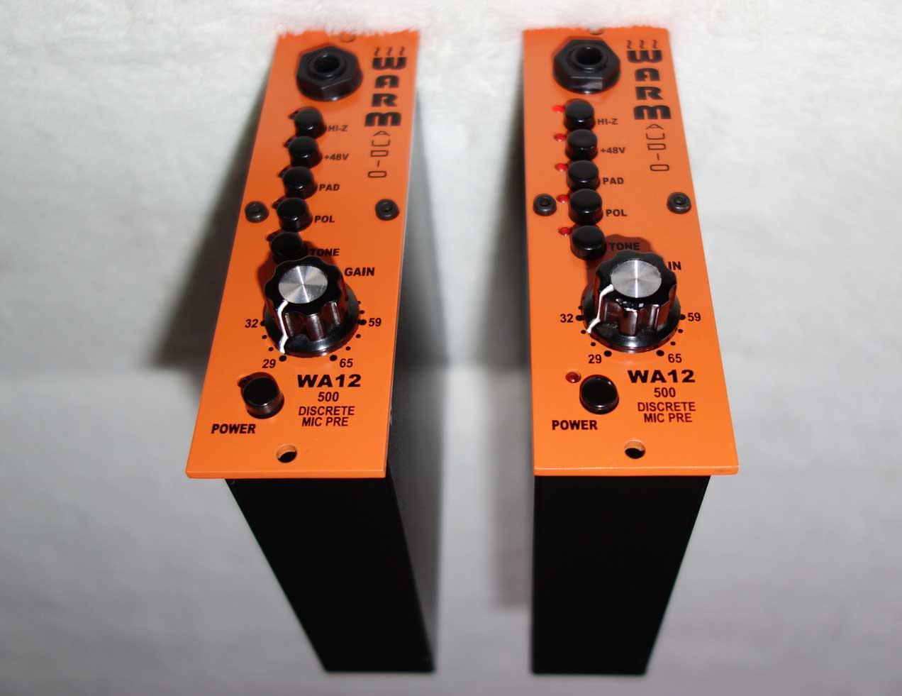Lightly Used Warm Audio TA12-500 Mic Preamp