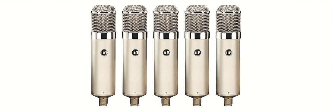 New WARM AUDIO WA-47 Tube Mic w/9 Polar Patterns