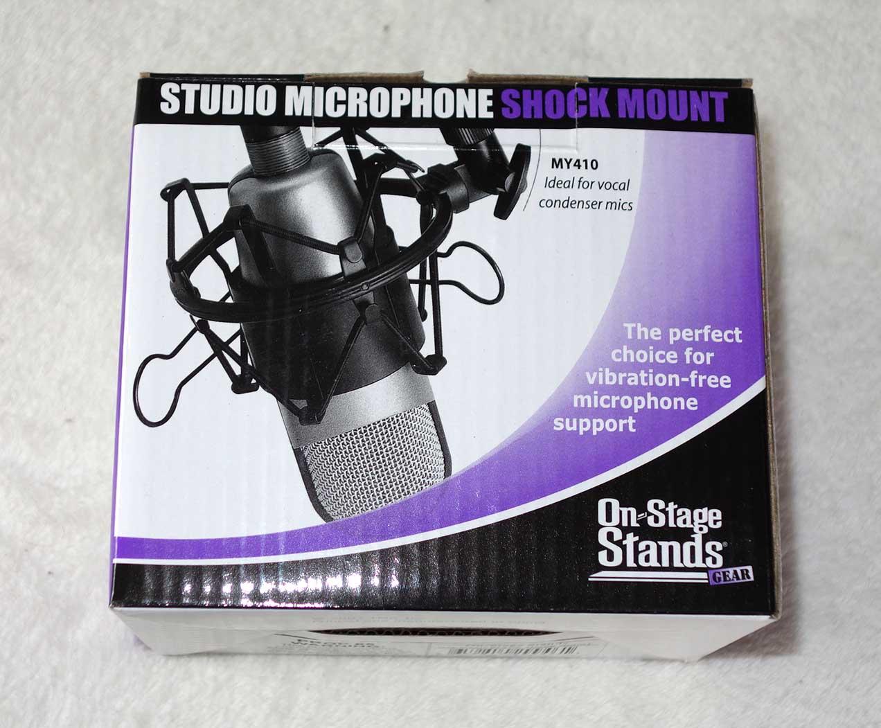 NEW Wildwood Songsmith Cardioid Microphone w/Shock Mount