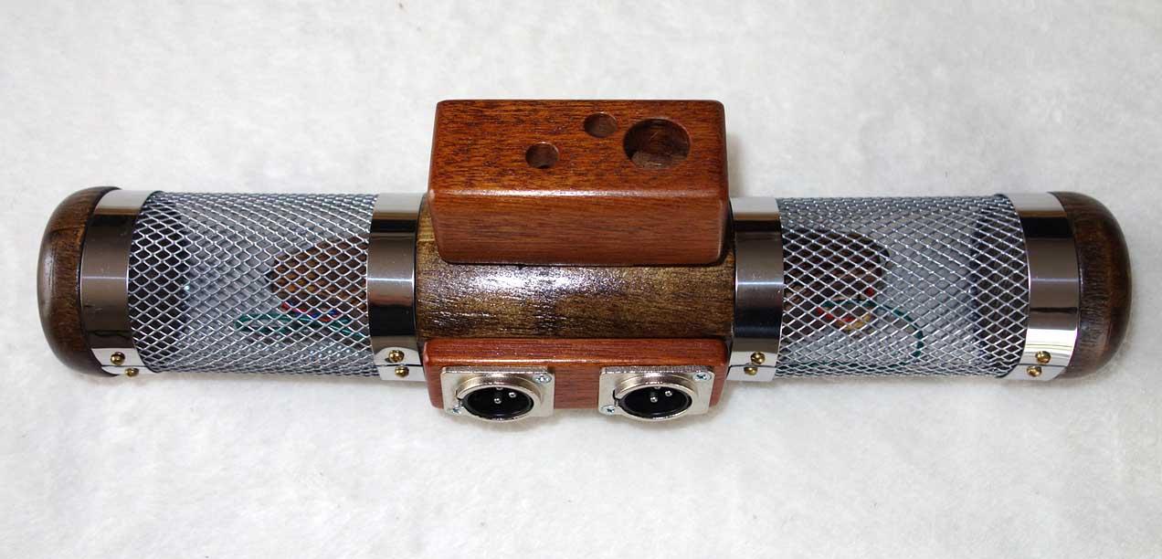 WildWood Stereo Mic w/Hand Made Hardwood Mic Body